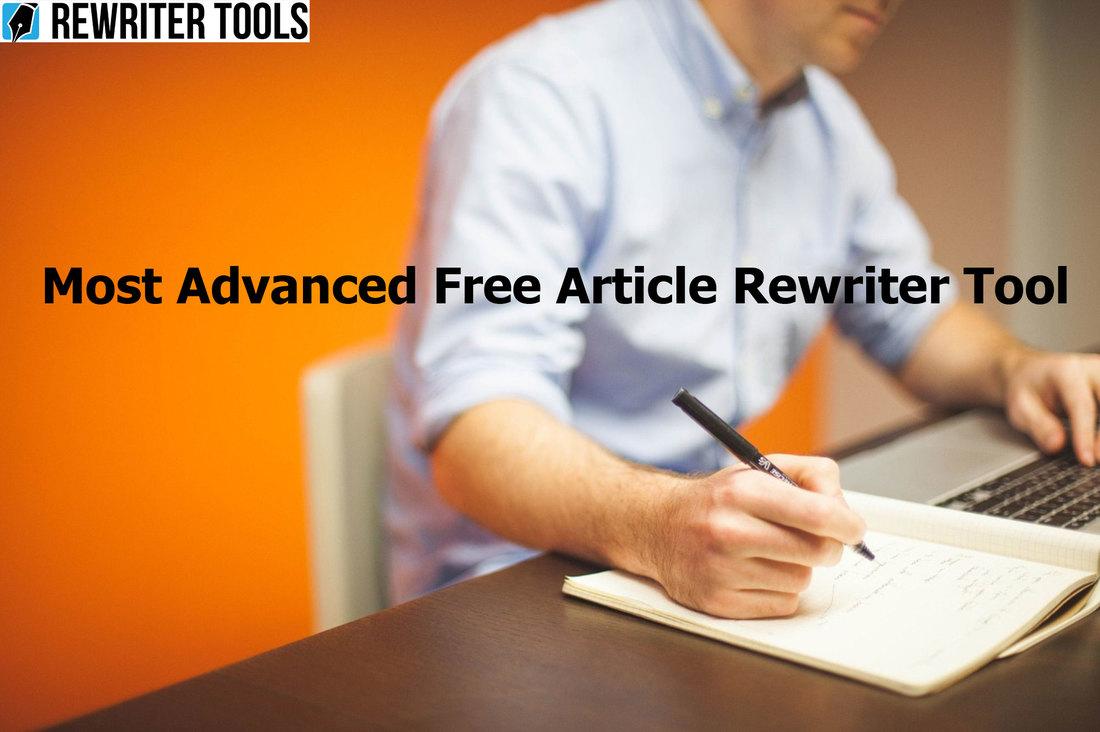 Article rewriter online tool